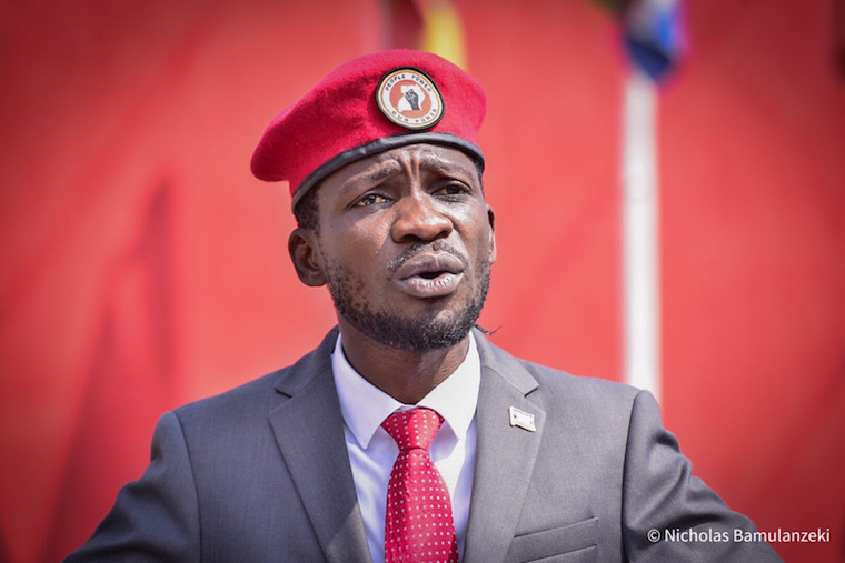 Breaking :Uganda police arrest prominent opposition Presidential hopeful Bobi Wine