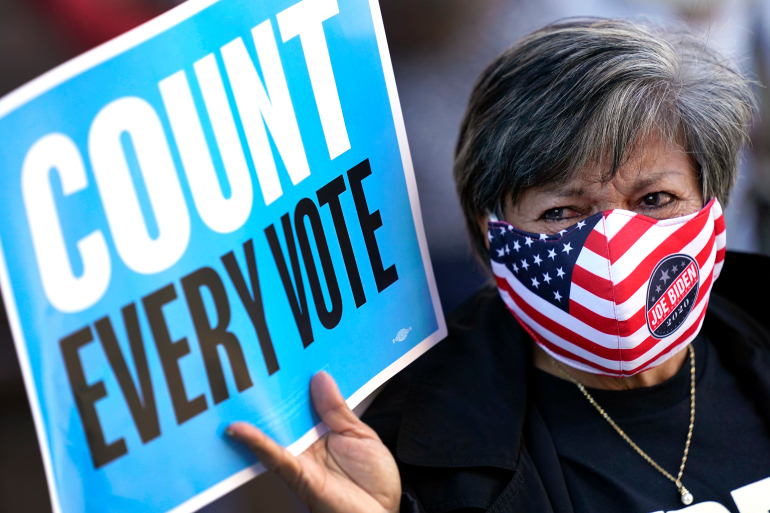 More than 100 million votes cast as Election Day in full swing