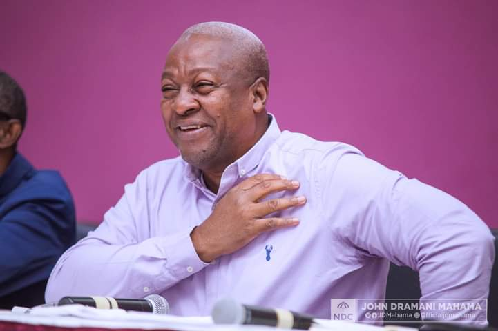 Ghana election 2020 : Former President and main contender in Ghana tight Presidential elections  thank  Ghanaian voters