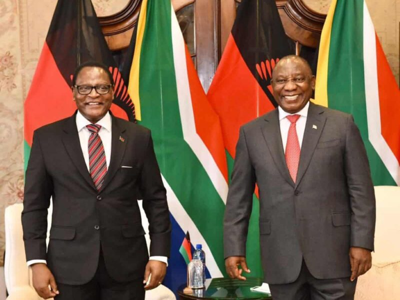 SA subjected president to 'improper' treatment, says Malawi