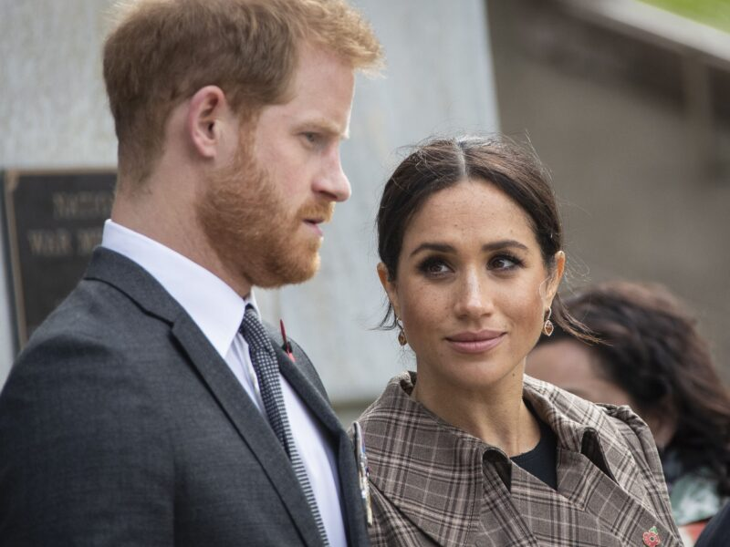 Prince Harry's supportive words when Meghan Markle decided to write about miscarriage