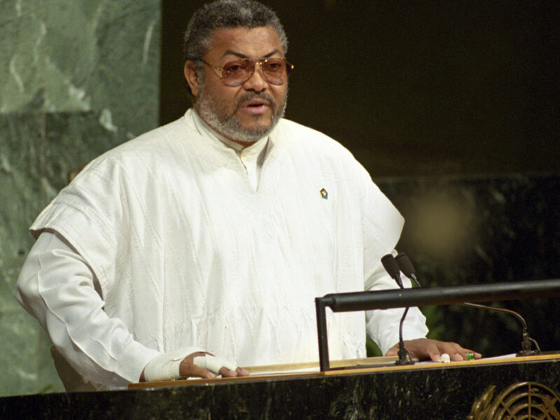 Jerry Rawlings left indelible mark in African history, says Cyril Ramaphosa