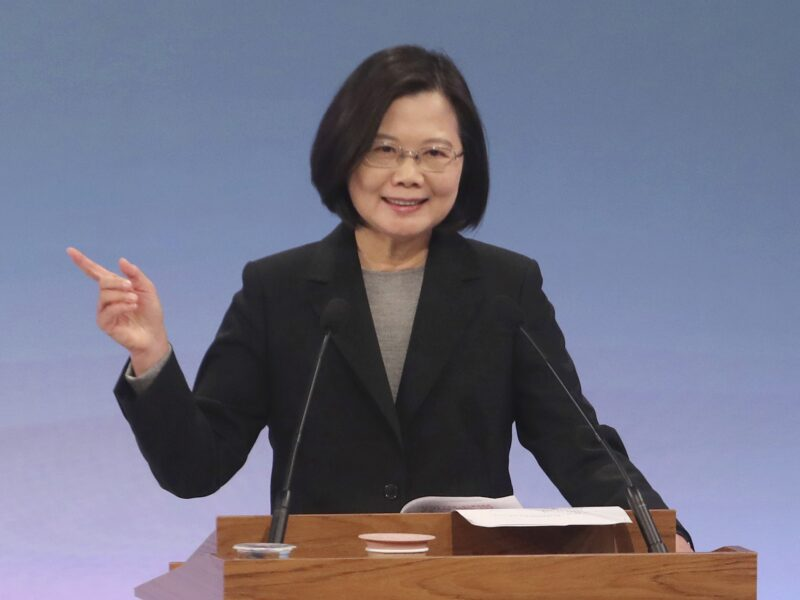 Tsai urges local firms to target African markets