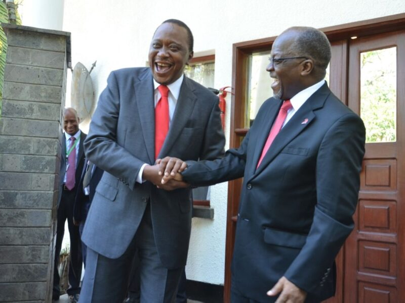 Uhuru Defies Dictator Magufuli, Allows Former Tanzania MP To Stay In Kenya Unconditionally