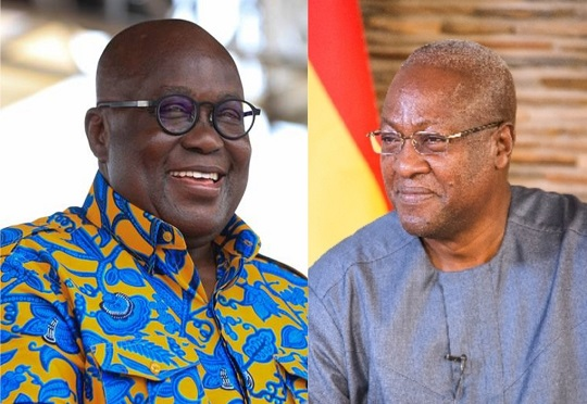 Update: Ghana's incumbent President and the former President signs Peace pact