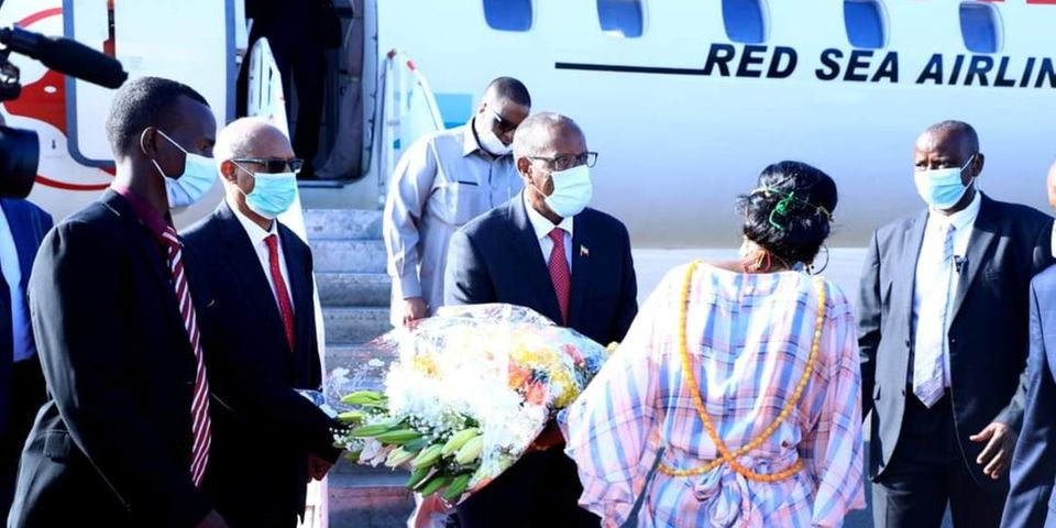 Mogadishu mum as Somaliland President Bihi gets red carpet reception in Djibouti