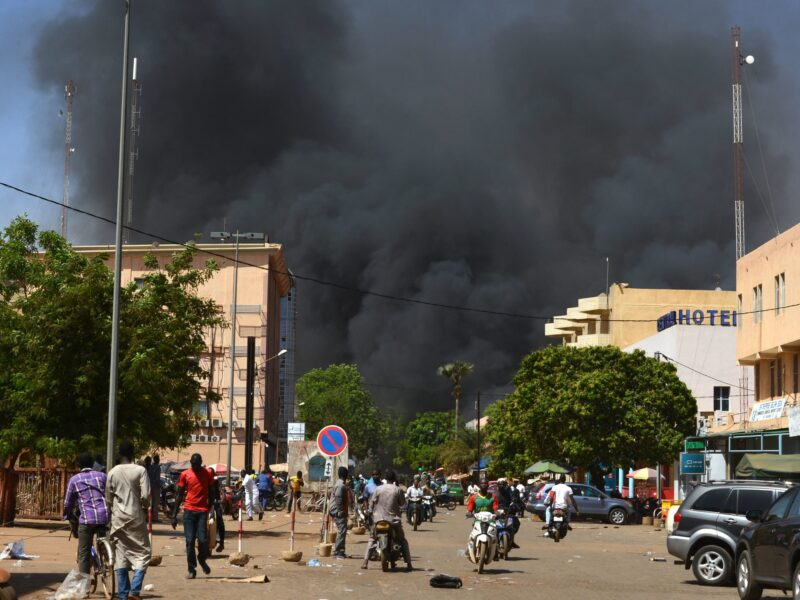 Seven of the top 10 countries most at risk for terrorism are in sub-Saharan Africa