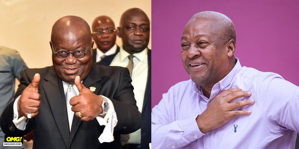 Akufo-Addo and Mahama face-off for third time in Ghana's hotly contested polls