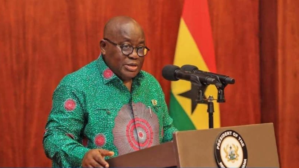 Ghana's President assures country of new Covid 19 vaccine roll out