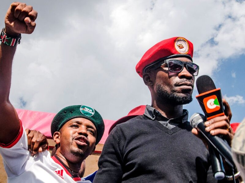 Uganda Elections :Bobi Wine claims victory in Uganda's election, despite early results showing him behind