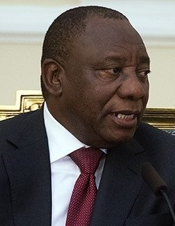 South Africa's President Ramaphosa blasts 'vaccine nationalism' and urges rich countries to release hoarded doses