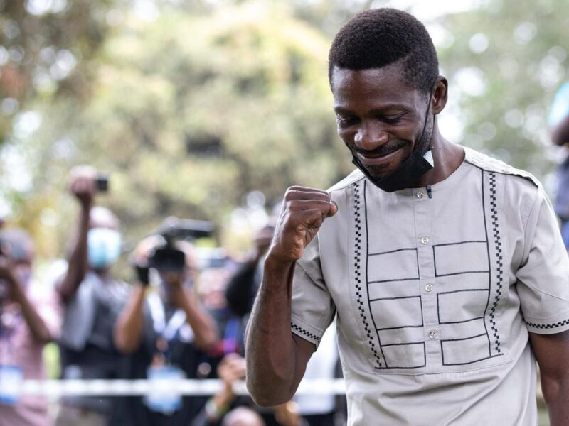'Under siege': Uganda's Bobi Wine says military raids home