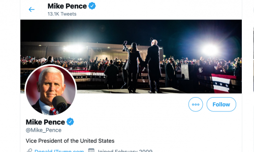 Mike Pence Angry With Trump, Changes Twitter Bio To Biden and Harris' Photo
