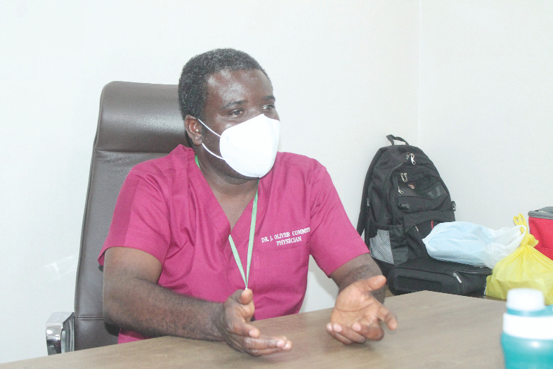 Self-medication adding to risks of COVID-19 morbidity – Dr. Oliver-Commey