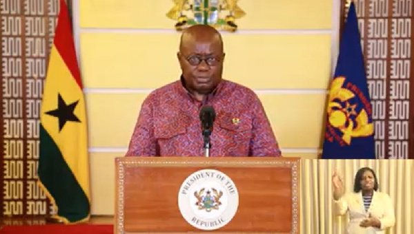 Don't get arrested before you wear your mask ,President Akufo-Addo advise Ghanaians