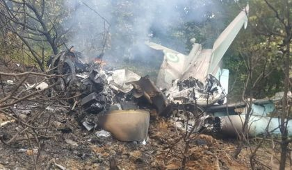 Breaking :Tears as military plane fatally crashes at Abuja airport, many souls lost