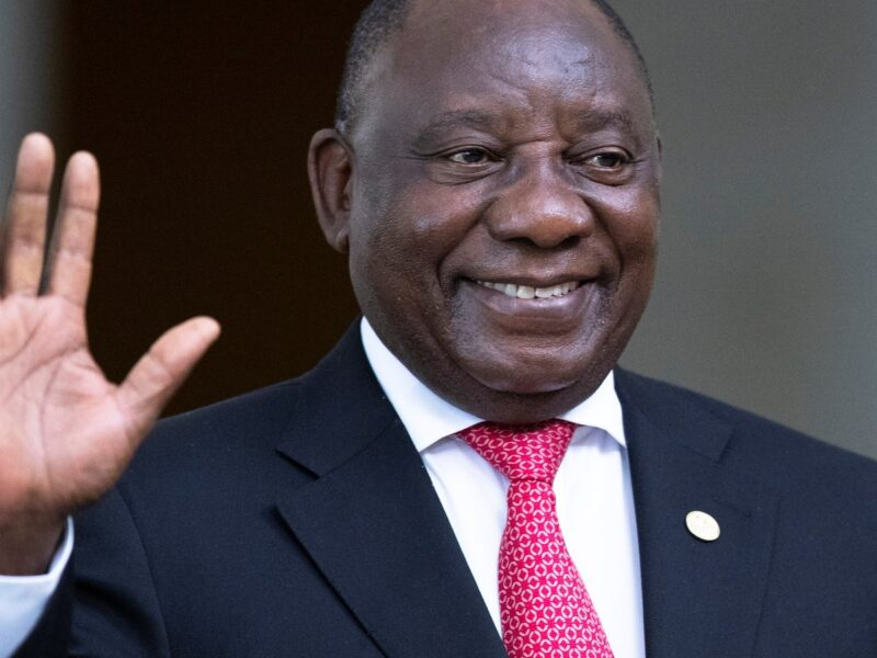 President Cyril Ramaphosa among first to get Covid-19 vaccine