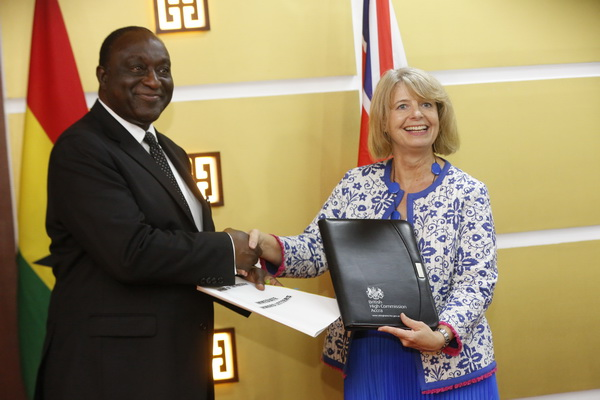 Ghana signs lucrative £1.2bn trade agreement with UK , Alan Kyeremanten led negotiations