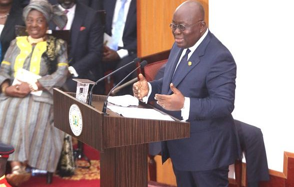 Read 2021 State Of The Nation By President Nana Addo Dankwa Akufo-Addo