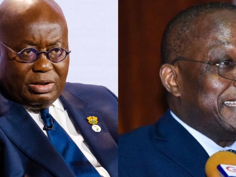 'Now thank we all our God' – Domelevo sings after Akufo-Addo's directive to retire