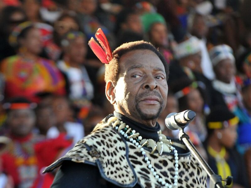 "South Africa's Zulu King Zwelithini dies at 72, hailed as ""visionary monarch"""