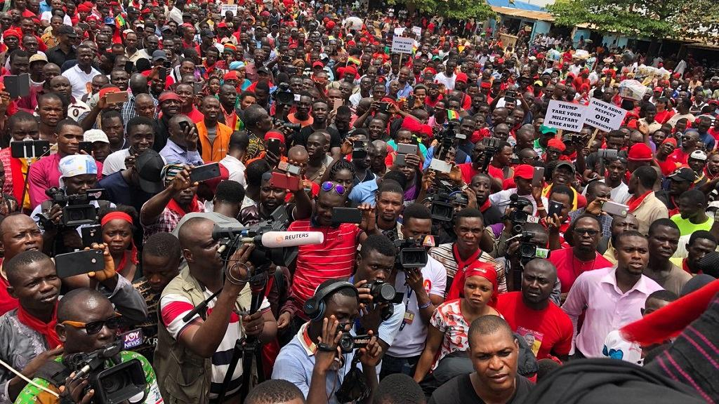 #FixTheCountry: We'll use the courts to set aside order against May 9 protest – Economic Fighters League
