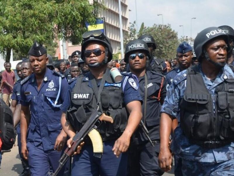 Gov't deploys 200 police officers to protect mining concessions